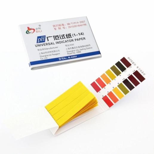 pH тест Лакмусовые полоски